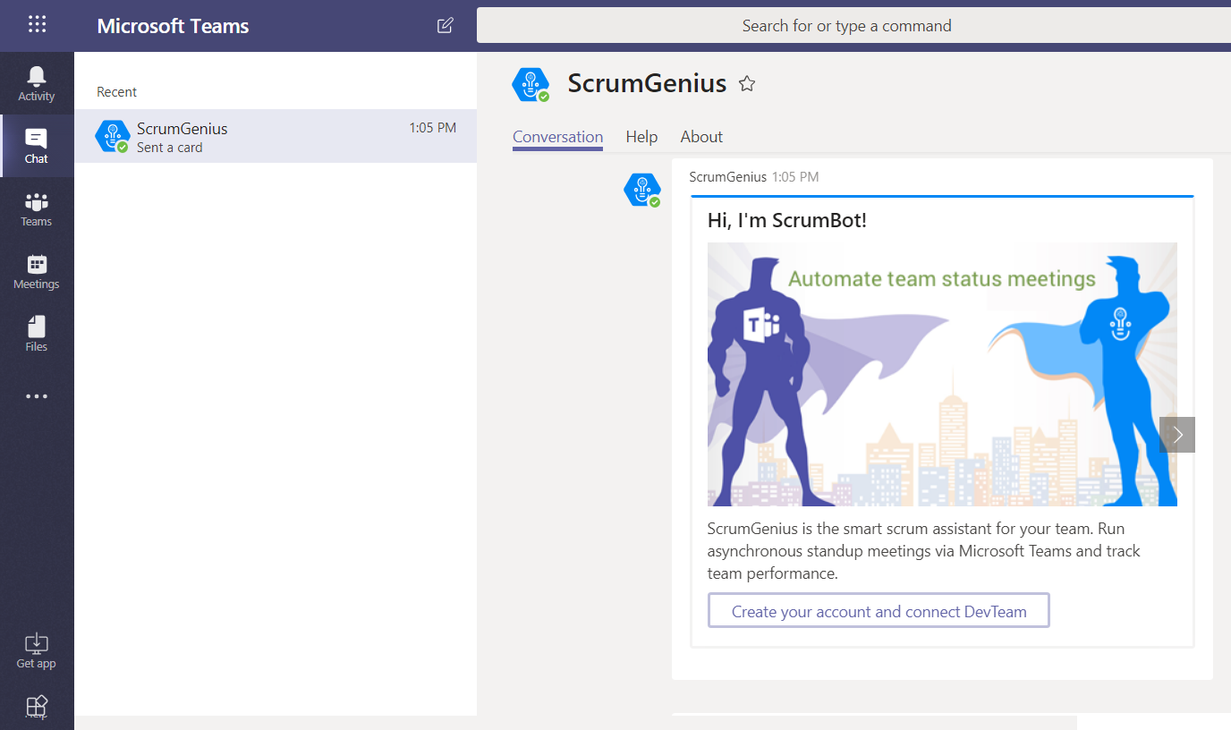 Getting started with Microsoft Teams - ScrumGenius Knowledge