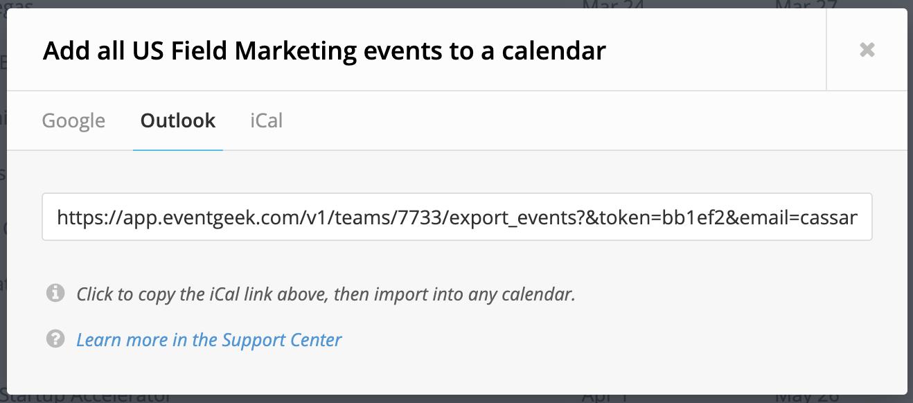 How do I sync Outlook Calendar? - EventGeek Support Center