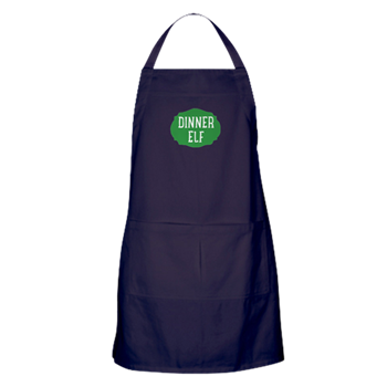 Apron with logo