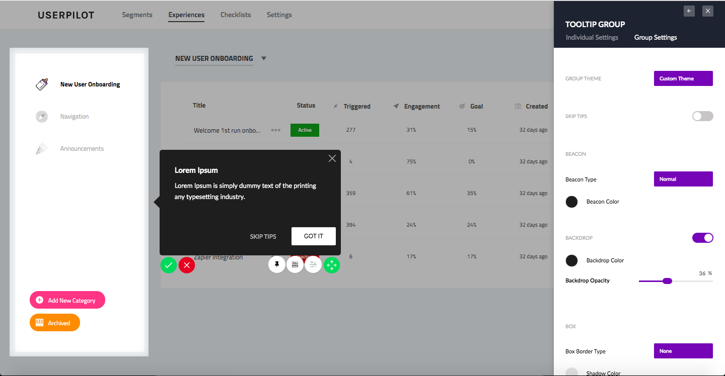 An Onboarding Experience to Welcome New Users - Userpilot