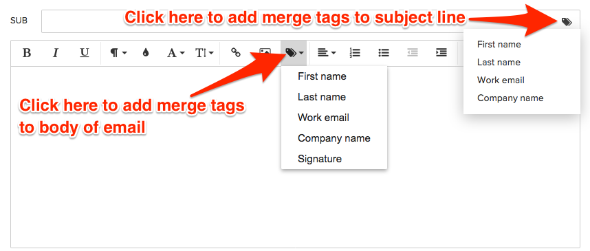 Creating Email Templates - Knowledge Base | PipelineDeals