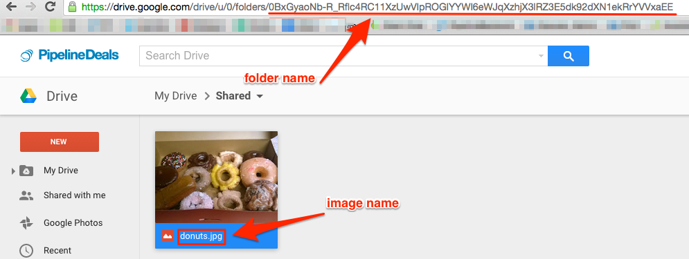 add images from Google Drive