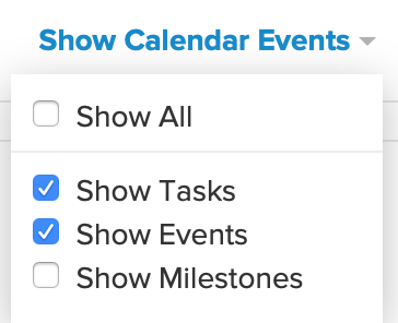 My calendar is blank  Where is all the data I previously input