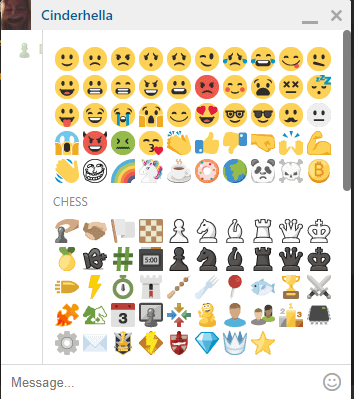 How do I open a chat window with my friend? - Chess com