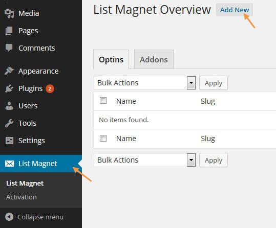 Fluttermail and WP List Magnet Integration