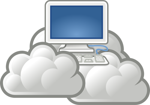 server-in-clouds