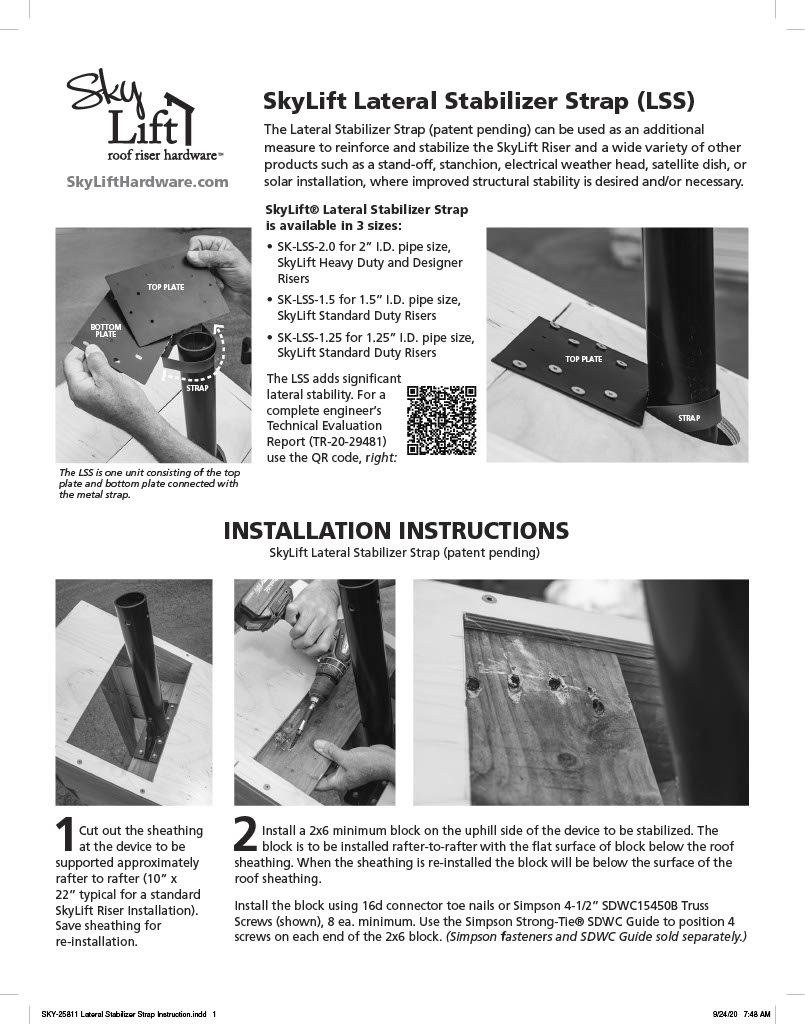Lateral Stabilizer Strap Instruction