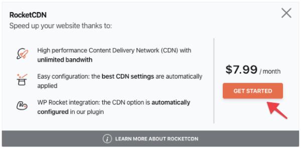 Activate RocketCDN