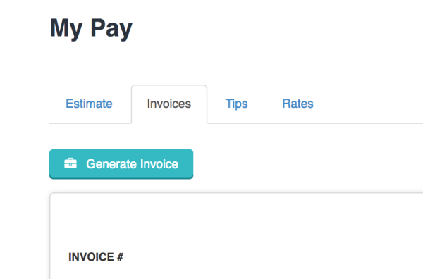 generating own pay stub invoice as staff time to pet knowledge base
