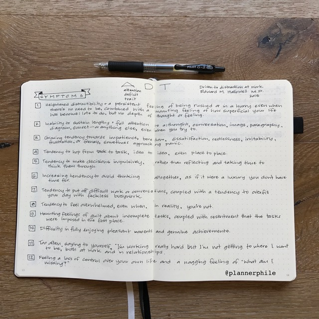 Productivity Coach in a Notebook by Jan @plannerphile