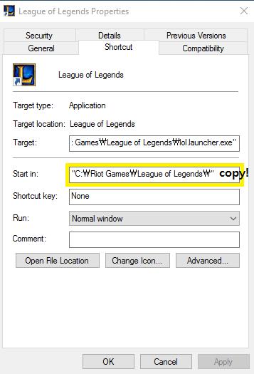 I cannot found LOL directory path - OP GG FAQ